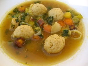 Fabulous Matzo Ball Soup