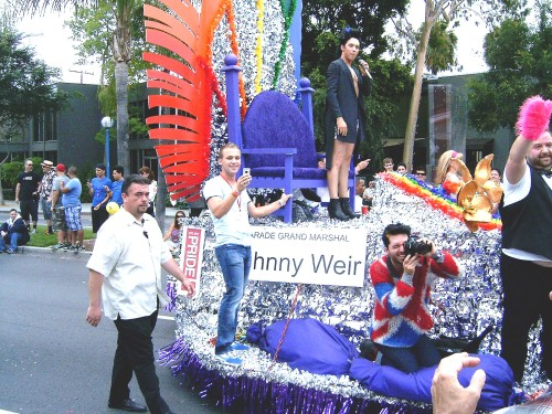 JOHNNY WEIR, Parades Grand Marshall