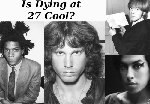 The 'Forever 27 Club' - Music's Growing List Of Stars Who Died At 27 Years Old