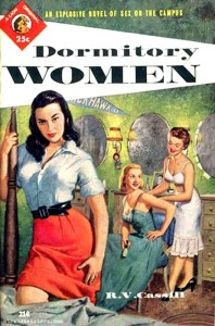 During the 1950s, the paperback rocketed in popularity. With the lifting of paper shortages and the collapse of the pulp magazine distribution network, the paperback became the dominant format for fiction publishing. We have a wide selection of classic paperbacks, in great shape, from this era coming online.