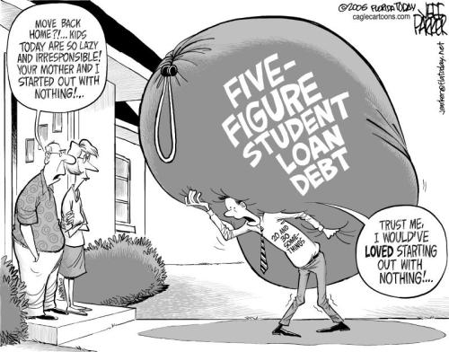 "Subject: Want a Real Economic Stimulus and Jobs Plan? Forgive Student Loan Debt!  Hi,  For over 30 years, the rich have gotten richer, the poor have gotten poorer, and the middle class is slowly but surely being squeezed out of existence. Instead of more of the same corporate welfare/""trickle-down"" economics that have been an abysmal failure for the middle class, why not try a trickle-up approach to rebuilding our economy by targeting relief at those most likely to actually help grow the economy?  So I signed a petition to The United States House of Representatives, The United States Senate and President Barack Obama, which says:  ""Forgiving the student loan debt of all Americans will have an immediate stimulative effect on our economy.  With the stroke of the President's pen, millions of Americans would suddenly have hundreds, or in some cases, thousands of extra dollars in their pockets each and every month with which to spend on ailing sectors of the economy.  As consumer spending increases, businesses will begin to hire, jobs will be created and a new era of innovation, entrepreneurship and prosperity will be ushered in for all.  A rising tide does, in fact, lift all boats - forgiving student loan debt, rather than tax cuts for corporations, millionaires and billionaires, has a MUCH greater chance of helping to rise that tide in a MUCH shorter time-frame.  The future economic success of this country is wholly dependent upon a well-educated, prosperous middle class.  Instead of saddling entire generations with debt from which there is no escape, let's empower the American people to grow this economy on their own!  Therefore, we, the undersigned, strongly encourage Congress and the President to support H. Res 365, introduced by Rep. Hansen Clarke (D-MI), seeking student loan forgiveness as a means of economic stimulus.""  Will you sign this petition? Click here:  http://signon.org/sign/want-a-real-economic?source=s.em.cp&r_by=706240  Thanks!"