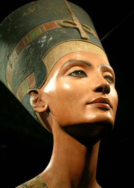 "Nefertiti, Egyptian Nfr.t-jy.tj, original pronunciation approximately Nafteta, for (""the beauty has come""). Nefertiti's parentage is not known with certainty, but one often cited theory is that she was the daughter of Ay, later to be pharaoh. Scenes in the tombs of the nobles in Amarna mention the queen's sister who is named Mutbenret (previously read as Mutnodjemet)"