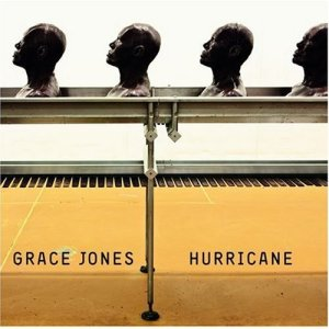 "Hurricane, produced by Jones and Ivor Guest, comes out September 6th via [PIAS] America. It features such guests as Brian Eno, Tricky, and Sly & Robbie. It includes international hits ""Williams' Blood"" and Corporate Cannibal"", as well as seven other tracks. The release will also include a bonus dub version of the album, Hurricane V2 (In Dub).  Download an MP3 of ""Sunset Sunrise"", cowritten by Jones' son Paulo Goude, below. Also check out the video for ""Corporate Cannibal"", which puts Gaga to shame."