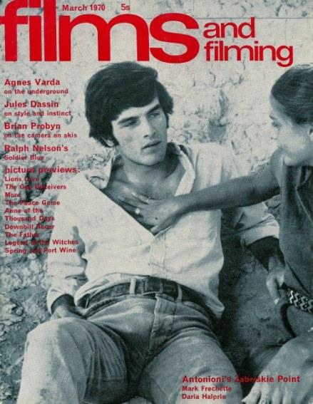 film ZABRISKIE POINT antonionni 1970