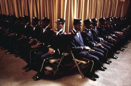 group of bodyguards for Muslim Leader Elijah Muhammad