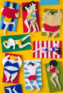 Jacopo Rosati via Fuzzy Felt Artworks 2012 on Behance
