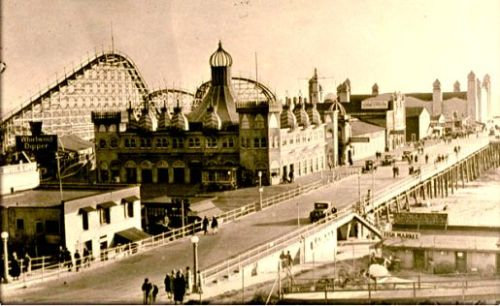 Santa Monica Pier, in the 1900's