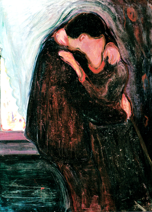 Edvard Munch, The Kiss, 1897