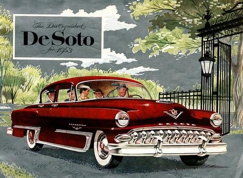 1953 DeSoto advertisement.