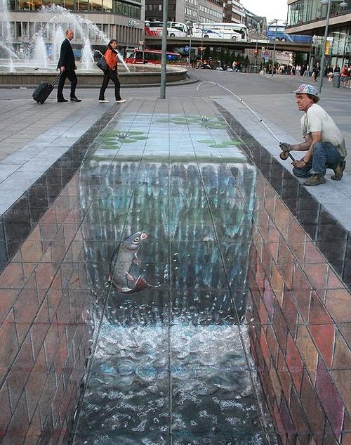 Amazing 3D Street Art by Julian Beever x1