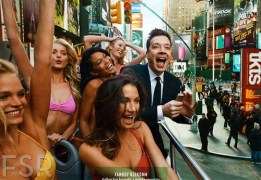 Check out Elsa Hosk, Lily Aldridge, Chanel Iman, Erin Heatherton, and Candice Swanepoel with Jimmy Fallon for Vanity Fair February 2014 by Annie Leibovitz