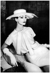 • Dovima in Vogue photographed by Henry Clarke - 1956 •