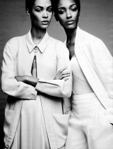 Joan Smalls and Jourdan Dunn]